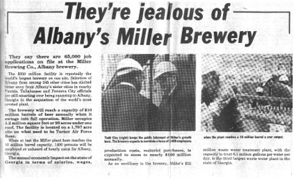 Albany's Miller Brewery